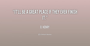 Henry Quotes