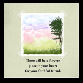 Free Pet Loss Sympathy Cards to Print