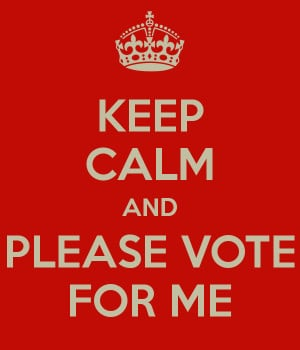 Keep Calm and Vote for Me