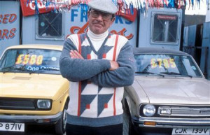 Mike Reid as Frank Butcher on ''EastEnders'' in a photo courtesy of ...
