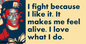 anderson silva on his passion for fighting i fight because i like it ...