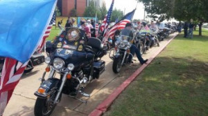 Hundreds of bikers show to defend 9 year-old tornado victim's funeral ...