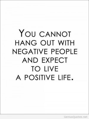 Negative people quote Negative people