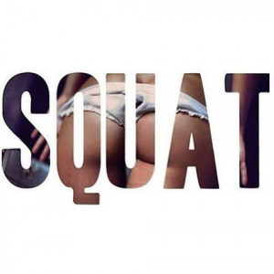 Squat quotes quote girl fit fitness workout motivation butt exercise ...