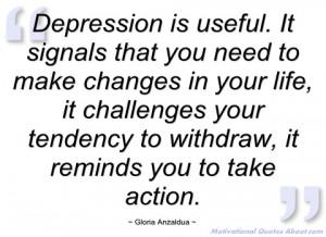 depression is useful gloria anzaldua