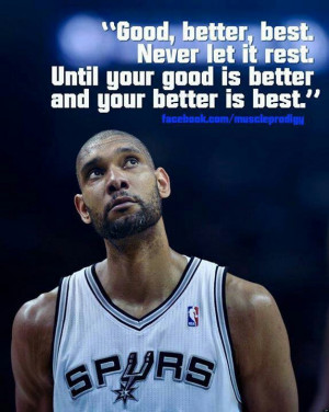 Love This Tim Duncan Quote =-= Love The Spurs !!