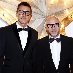 Stefano Gabbana left and Domenico Dolce Picture PA Archive Sean