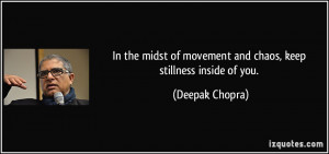More Deepak Chopra Quotes