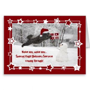 Funny Dog Christmas Card