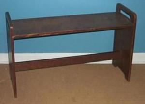 Gustav Stickley Piano Bench: Piano Bench