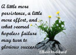 Elbert Hubbard on positive thinking