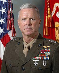 General James F. Amos, USMC