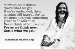 Maharishi Mahesh Yogi, fondatore del movimento di Meditazione ...