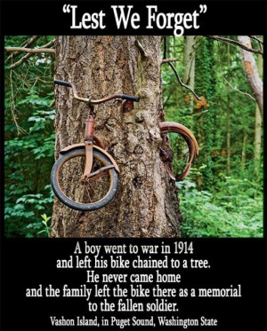 One explanation for the bike-eating tree