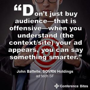 John Battelle at #adtechSF