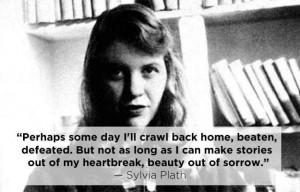 Plath, an Infp, beautiful deep poet.