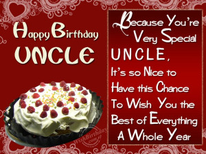 Birthday Uncle Picture For