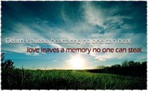 Death of a Loved One – Coping with Loss