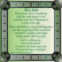 IRISH QUOTES, Sayings, Blessings