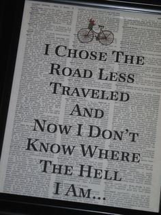 funni, funny quotes, robert frost, poetry lessons, travel quotes, the ...