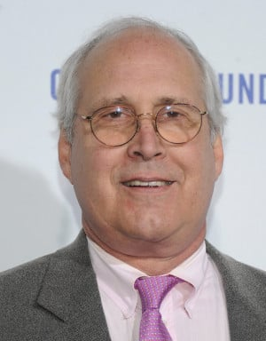 Chevy Chase Actor Chevy Chase arrives at The Clinton Foundation's