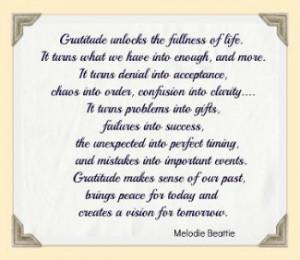 Quotes Expressing Appreciation