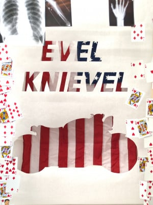 Evel Knievel Poster progression