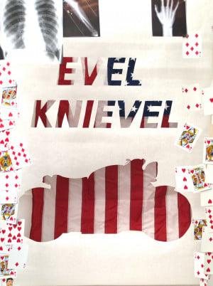 Evel Knievel Poster progression