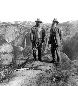 John Muir and Theodore Roosevelt