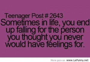 Teenager post quote