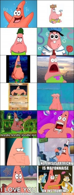 Related Pictures funny patrick star faces