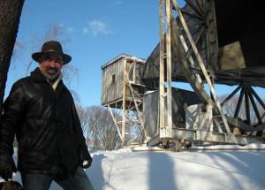 Princeton Prof. David Spergel at the Horn Antenna in Holmdell, New ...