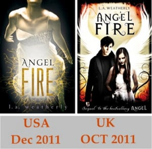 Angel Fire by L.A. Weatherly