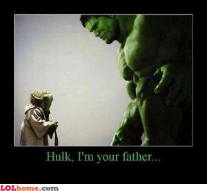 father hulk yoda