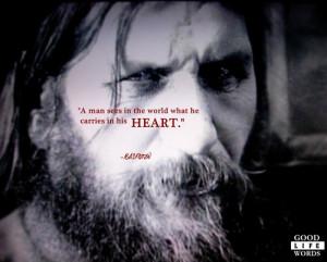 Grigori Rasputin, the Mad Monk. On Perspective.