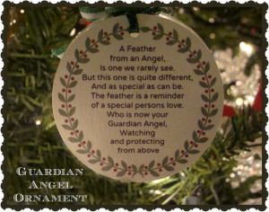 Crafty In Crosby: Guardian Angel Ornament with Printable Poem - just ...