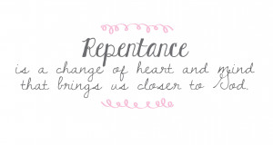 "love it when people tell me to repent! "" said no one ever. Who ..."
