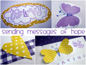 Making Greeting Cards for Small Hands Creating Hope: