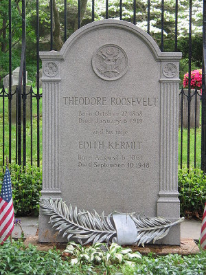 Grave site of Theodore Roosevelt