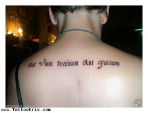 Latin Tattoos And Meanings And Quotes 1