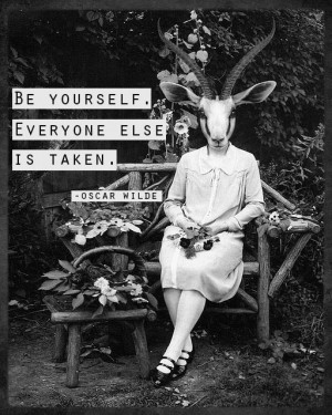 Oscar wilde be yourself
