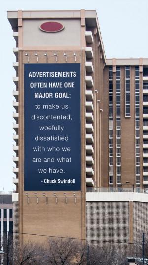 Advertisements One Major Goal