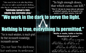 Assassins Creed Quotes Assassin's creed quotes by