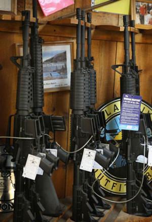 تصاویر/ بازارهای فروش سلاح در آمريكا