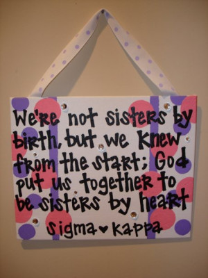craft ideas sorority # sisters # cute cute sisterhood quotes sorority ...