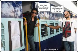 Funny joke SRK Chennai Express