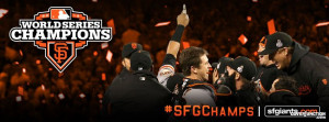 San Francisco Giants World Series Champions Facebook Cover