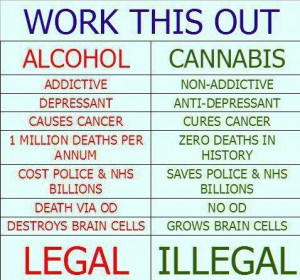 Wouldn't You Rather Children Smoked Cannabis Than Drank Alcohol?