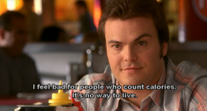 ... was fat, he would NEVER say this, because that would be a lie. ( via