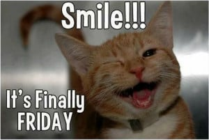 Smile:) It's #Finally #Friday!
